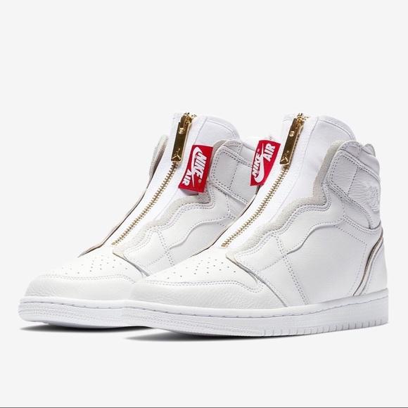 Nike scarpe 1 Air Jordan 1 scarpe Wmns High Zip Bnib Poshmark 69a88d